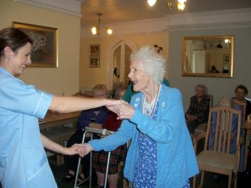 Dancing at Durnsford Lodge